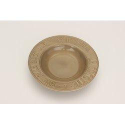 Servizio piatti METRO - bianco e argilla