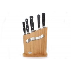 Ceppo Magritte con coltelli Buffalo