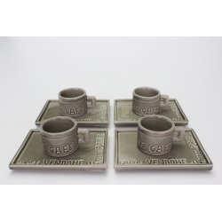 Set Caffè METRO, argilla
