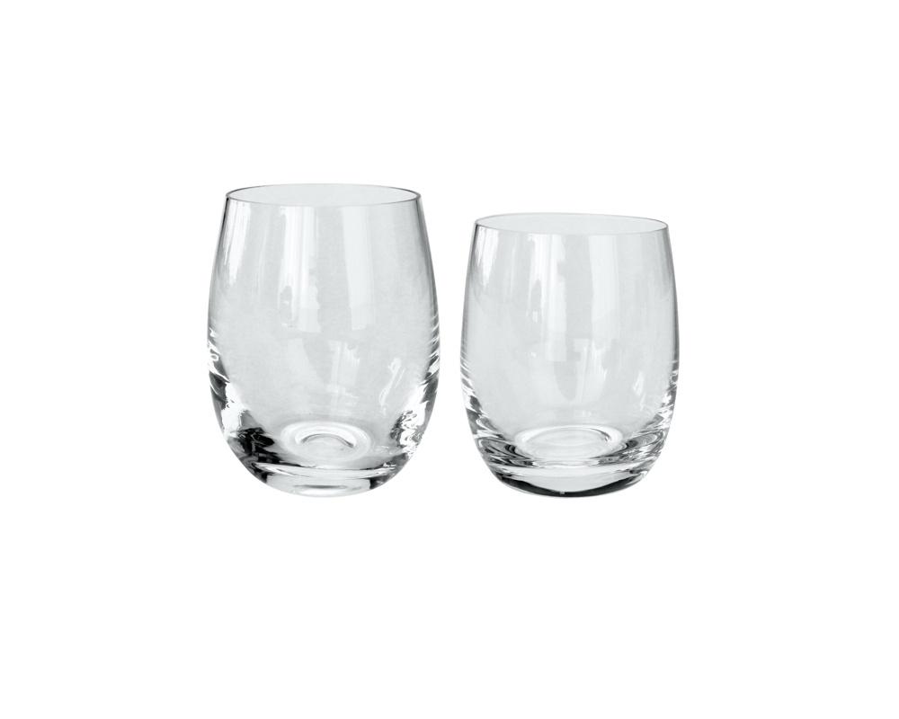 Calici Vino E Acqua bicchiere per acqua in vetro per uso giornaliero stile moderno gioia