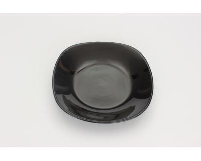 piatto fondo QUADRO BLACK