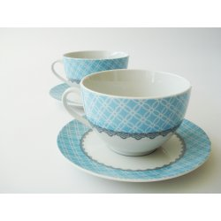 Set colazione KONJA LIGHT BLUE