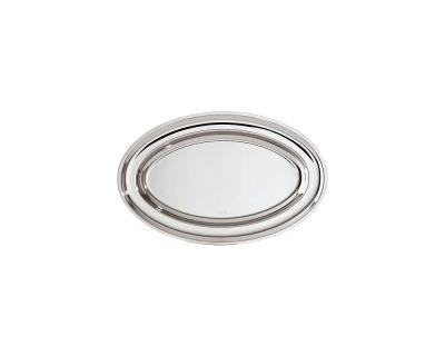 SAMBONET - ELITE Oval Platter 30x19 silverplated