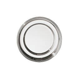 SAMBONET - CONTOUR Piatto Tondo 41cm silverplated