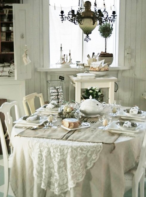 Apparecchiare la tavola shabby chic - Dress My Table