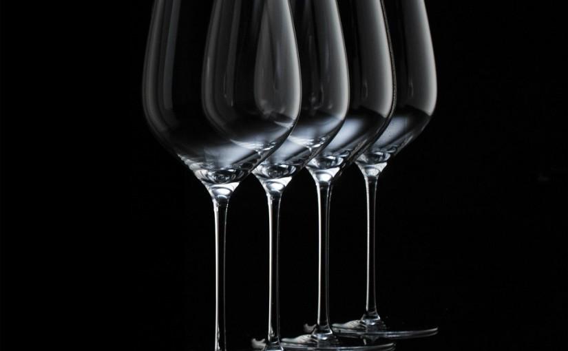 Come pulire i calici di vino.