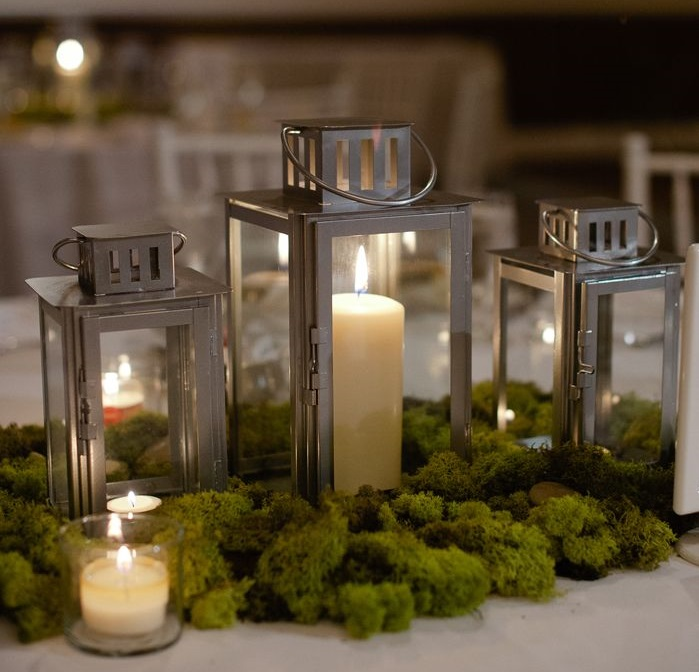 Dress My Table - Candele nelle lanterne