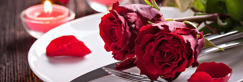 Arredo romantico per tavola